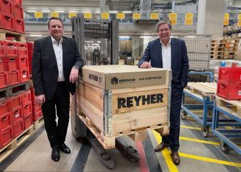 Німецька компанія використовує для упаковки гофрокартон з трав'яного паперу