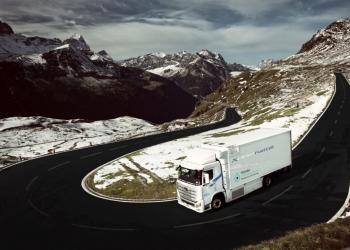 До Швейцарії почали надходити водневі вантажівки Hyundai