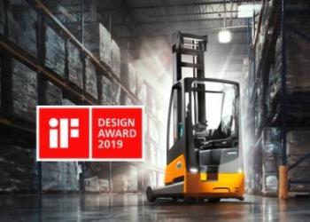 Jungheinrich получил награду за дизайн ричтрака