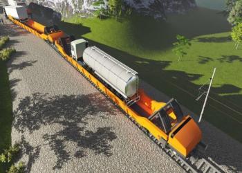 У Швеції розробили новий інтермодальний вагон