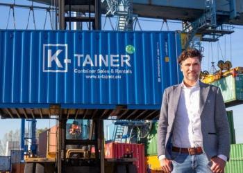 Компанія з Нідерландів почала пропонувати оренду «односторонніх» контейнерів