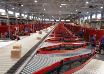 «Новая почта» открыла атоматизированный сортировочный терминал