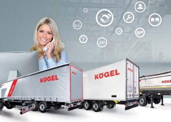 Kögel Telematics соединяет в себе телематику полуприцепа с диагностикой тормозной системы, а также оценку других важных данных о транспортном средстве
