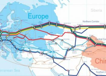 В 2018 году резко выросло количество грузовых поездов на маршруте Китай - Евросоюз