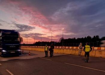 Польська транспортна галузь потерпає від кризи на ринку європейських міжнародних перевезень