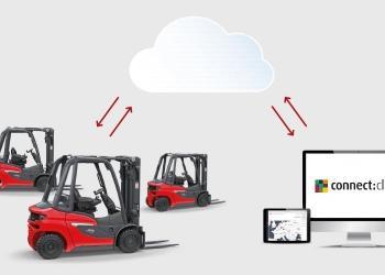 Сonnect: cloud від Linde Material Handling. Управління парком техніки у будь-який час і у будь-якому місці