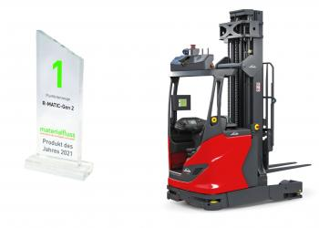 Річтрак Linde та система Linde Safety Guard – лауреати премії materialfluss PRODUCTS OF THE YEAR 2021