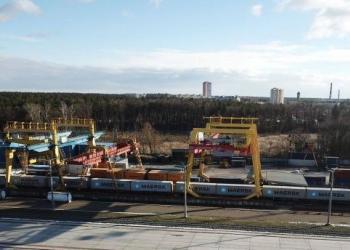 DSV присоединилась к контейнерному поезду Киев - порт Южный