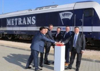 Через Україну пройшов новий контейнерний залізничний маршрут з Угорщини до Китаю