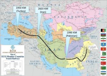 Залізничний маршрут Стамбул-Тегеран-Ісламабад визнали нежиттєздатним