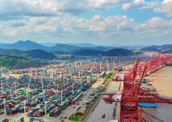 Китайська влада дозволила частково відновити роботу терміналу Нінбо наступного тижня