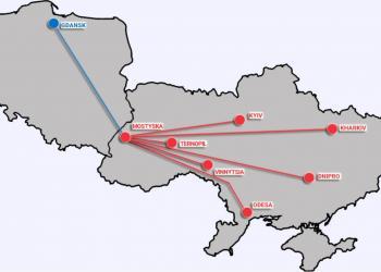 Нова залізнична лінія напряму з'єднала порт у Гданську з Україною