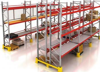 исследование устойчивости складских стеллажей