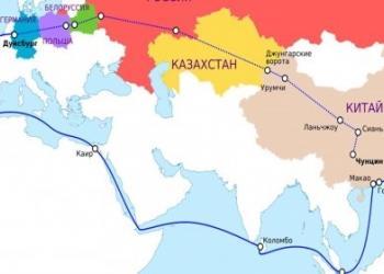 Потяг з Німеччини до Китаю, відправлений BASF, дійшов за 14 діб