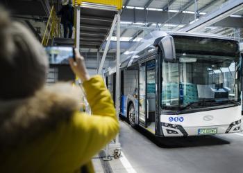 Автобуси у Європі стануть «стендами для випробовувань» нових технологій