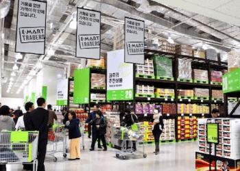 У Південній Кореї дисконтні склади обігнали торгові центри