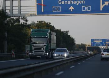 У Німеччині власники вантажівок на газі не платитимуть податок