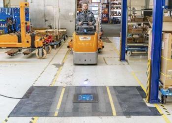 Для електрокарів на складах пропонують швидку індуктивну зарядку