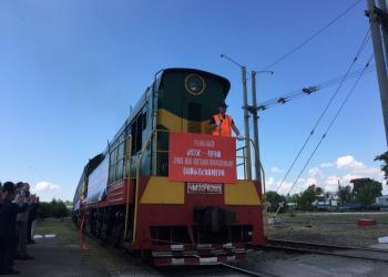До України прибули ще два потяги з Китаю