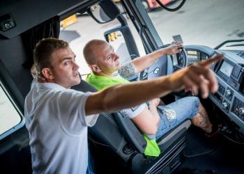 На польських автопідприємствах цінують водіїв вантажівок