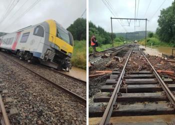 У Західній Європі затоплено залізниці. Рух припинено мінімум на кілька днів
