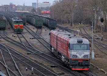 На українській залізниці почали працювати приватні локомотиви