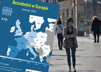 З'явилася перша статистика безробіття в ЄС на початковому етапі кризи