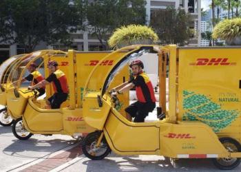 У Майамі на останній милі почали використовувати вантажні електровелосипеди