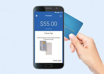 «Ощадбанк» тестирует технологию, позволяющую использовать смартфон как POS-терминал