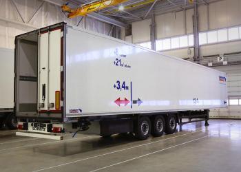 Schmitz Cargobull представил удлиненный рефрижераторный полуприцеп со сплошной стенкой