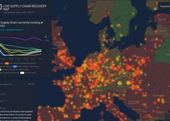 Транспортна логістика у Європі поволі відновлюється