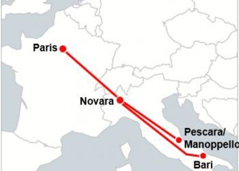 Між Парижем та півднем Італії збудують швидкісну залізницю довжиною 1700 км