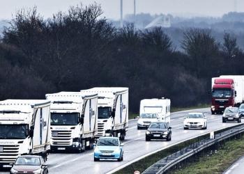 Інтенсивність руху авто вантажівок у ЄС повернулася до докризового рівня