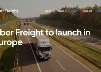 Uber Freight идет в Европу