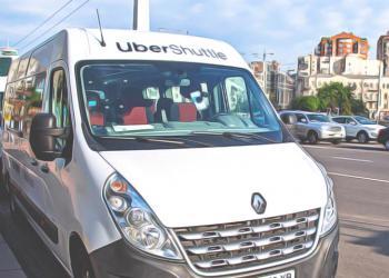 Uber запускает в Киеве новый вид общественного транспорта