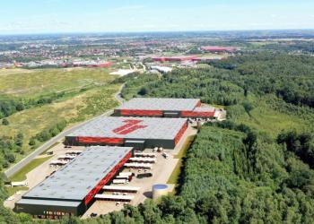 У Гданську випробують систему інтелектуального даху для складів та виробничих споруд
