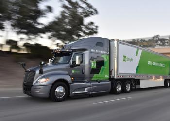 У США безпілотні вантажівки відправляють на відстань 1600 км