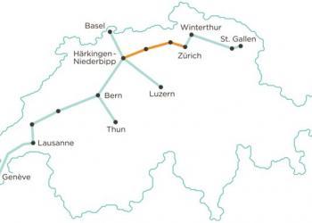 У Швейцарії оприлюднили план побудови вантажного метрополітену через усію країну