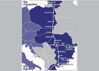 Литва виходить з проекту «Віа Карпатія», щоб стати частиною мережі TEN-T