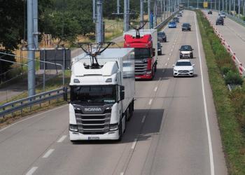 Німецька компанія випробовує «тролейбусні» фури у нових умовах