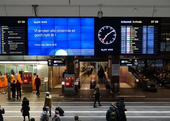 У Норвегії збудують залізничний вокзал на сонячній енергії