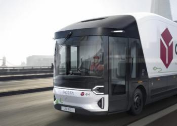 Volta Trucks розпочала випробування великої вантажівки на електричній тязі