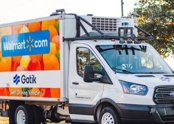 Walmart хоче використовувати безпілотні вантажівки на середній милі