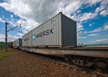 Maersk удвічі збільшує обсяги перевезення залізницею з Азії до Європи