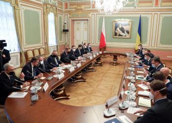 Міністр інфраструктури України Владислав Криклій провів зустріч з Міністром інфраструктури Республіки Польща Анджеєм Адамчиком