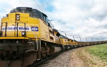 Американці випробували безпілотний вантажний потяг