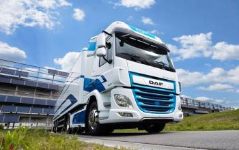 DAF почав продавати електровантажівки моделі CF обмеженими партіями