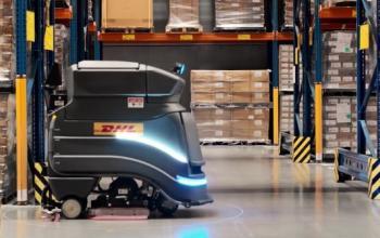 Компанії DHL планує розмістити роботів Neo для очищення підлоги на усіх своїх складах