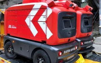 В Гуанчжоу запроваджують доставку за допомогою роботів JD