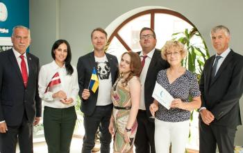Международная логистическая компания «Дюк Актив» укрепляет украинско-латвийское партнерство